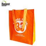 Sac à provisions non tissé réutilisé par épicerie de sac de la grande capacité RPET