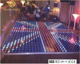 P10cm Acrílico impermeable RGB LED Video Pista de baile para la fiesta de la boda Etapa Show