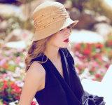 Vente en gros de paille parasol Sunglasses Leisure Foldable Lady's Hat