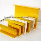Profilo della plastica di rinforzo vetroresina di rendimento elevato, Manica di FRP