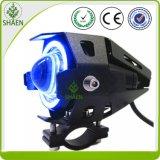 U7 linterna doble de la motocicleta LED de la viga 60W