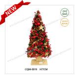 党のための魅力的な51cmプラスチッククリスマスのマツ円錐形そしてクリスマスの球