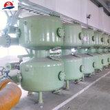 Equipo industrial de la filtración del agua que conduce el filtro bajo de la limpieza de uno mismo de la arena