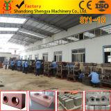 Machine de fabrication de brique de verrouillage de la colle complètement automatique de marque de Shengya Sy1-10 argile élevé de rendement bloquer faire la machine