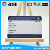 Meilleur Custom Printing 4color Plastic PVC Visiting Cards