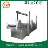 Máquina de fritura comercial y sartén profunda del restaurante para los pescados del pollo