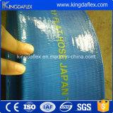 Mangueira de grande resistência da descarga do PVC Layflat da alta pressão