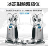4つのハンドルのセリウム(ETG50-4S)が付いている専門のCryolipolysis Slimmimg機械