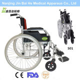 Leichter Aluminiumlegierung-behinderter Rollstuhl