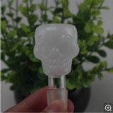 Glass Bowl Piece 14.4mm Bowl Joint Cráneo Masculino para Vidrio Water Pipe Bowl Slide