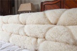 Le bâti de deux utilisations a répandu le matelas Topper de laines piqué par diamant réversible