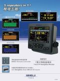 Монитор навигации для ветра, глубины, GPS, рубрики, скорости