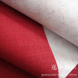 Linen d'imitazione Sofa Fabric con Brushed Backing