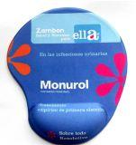 Tapis de souris de gel de silicones avec l'impression faite sur commande de logo pour annoncer des cadeaux
