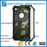 Caso de la cubierta del teléfono del camuflaje de los accesorios del teléfono para el borde de Samsung S7/S7
