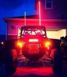 Barra chiara rapida del supporto LED della versione del camion dell'automobile degli indicatori luminosi di palo della bandierina del ricambio auto LED 12V 4FT 5FT 6FT ATV UTV