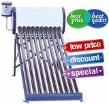 Verwarmer van het Water van de niet-druk de Zonne (ZonneCollector JJL)
