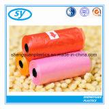 HDPE/LDPE biodegradierbarer farbiger aufbereiteter Abfall-Beutel