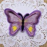 Merletto del ricamo della zona della farfalla di modo per l'indumento