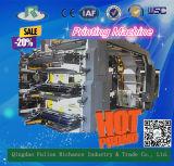 5 Serien-automatische gewölbte Karton-Kasten-Drucken-Maschine