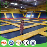 ASTM China Professional Manufacturer seja Customized Kids Indoor Trampoline Bed para Amusement Trampoline Park