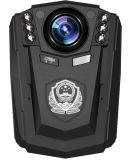 夜間視界およびアラームが付いているAmbarella A7 1296p 34W完全なHDの警察のボディによって身に着けられているカメラ