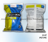 Química de envases de plástico bolsa con fuelle inferior y cremallera