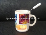 Caneca do Fondue do Sublimation, caneca do Sublimation