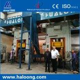El introducir de petróleo eléctrico prolonga vida útil prensa de ladrillos automática de fuego