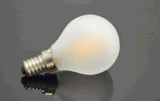 L'ampoule 1With1.5With3.5W de G45/G50 DEL chauffent l'ampoule de obscurcissement en verre claire blanche d'homologation de Ce/UL