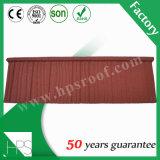 Mattonelle di tetto rivestite del metallo della pietra del campione libero del magazzino della Nigeria di fabbricazione di Guangzhou