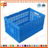 Conteneur de stockage de légumes en plastique pliable Fruit Logistics Chiffre de panier (Zhtb13)