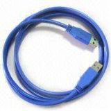 USB 3.0 de la alta calidad un varón a un cable masculino