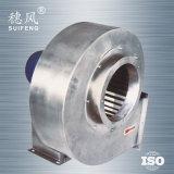 Ventilador centrífugo de alta pressão do aço Dz-75 inoxidável