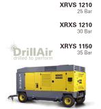 Compresor de aire portable del tornillo de Copco 35bar del atlas para la explotación minera