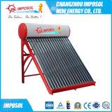 Réchauffeur d'eau chaude solaire de tube électronique non-pressurisé