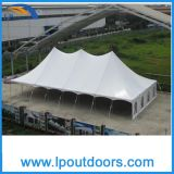 40X60' Outdoor Steel Frame Wedding Marquee High Peakポーランド人Tent