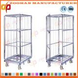A dobradura Stackable galvanizou o recipiente do rolo do fio do armazenamento da compra do metal (Zhra58)