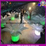 Decoração de Fatanstic que Wedding flores infláveis com o diodo emissor de luz para o partido