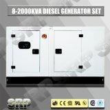 генератор 80kVA 50Hz звукоизоляционный тепловозный приведенный в действие Cummins (SDG80DCS)