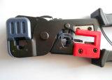 Отрежьте инструмент Crimp кабеля CCTV стриппера для разъема RJ45/Rj12/Rj11 (T5006)