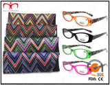 Lunetterie Eyewearframe Reading Glasses de dames Fashion Plastic avec Pouch (MRP21661)