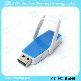 Multi Color corredera de plástico de 8 GB de memoria USB con Logo (ZYF1844)