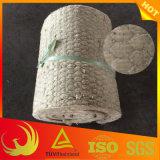 Couverture de Roche-Laines de matériau d'isolation thermique avec le treillis métallique de poulet
