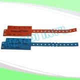 催し物10タブのビニールプラスチックリスト・ストラップIDのブレスレット(E6070-10-3)