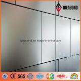 Plaque en aluminium enduite d'une première couche de peinture de matériau de construction d'épreuve de temps