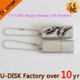 教育昇進のギフトのカスタムロゴの金属USBの棒(YT-1238-02L)