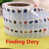 Trovando la stampa impermeabile del PVC del Dory scherza il contrassegno nome di Stickes