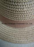 Sombrero de la trenza de papel de Mettallic