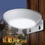 lampada da parete esterna del percorso della lampada impermeabile chiara solare del giardino del sensore di movimento del radar di a microonde di 16LEDs 260lm LED